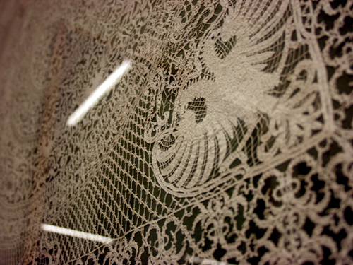 Diagonal Lace