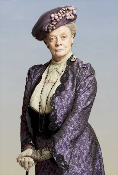 The Dowager Countess knows all